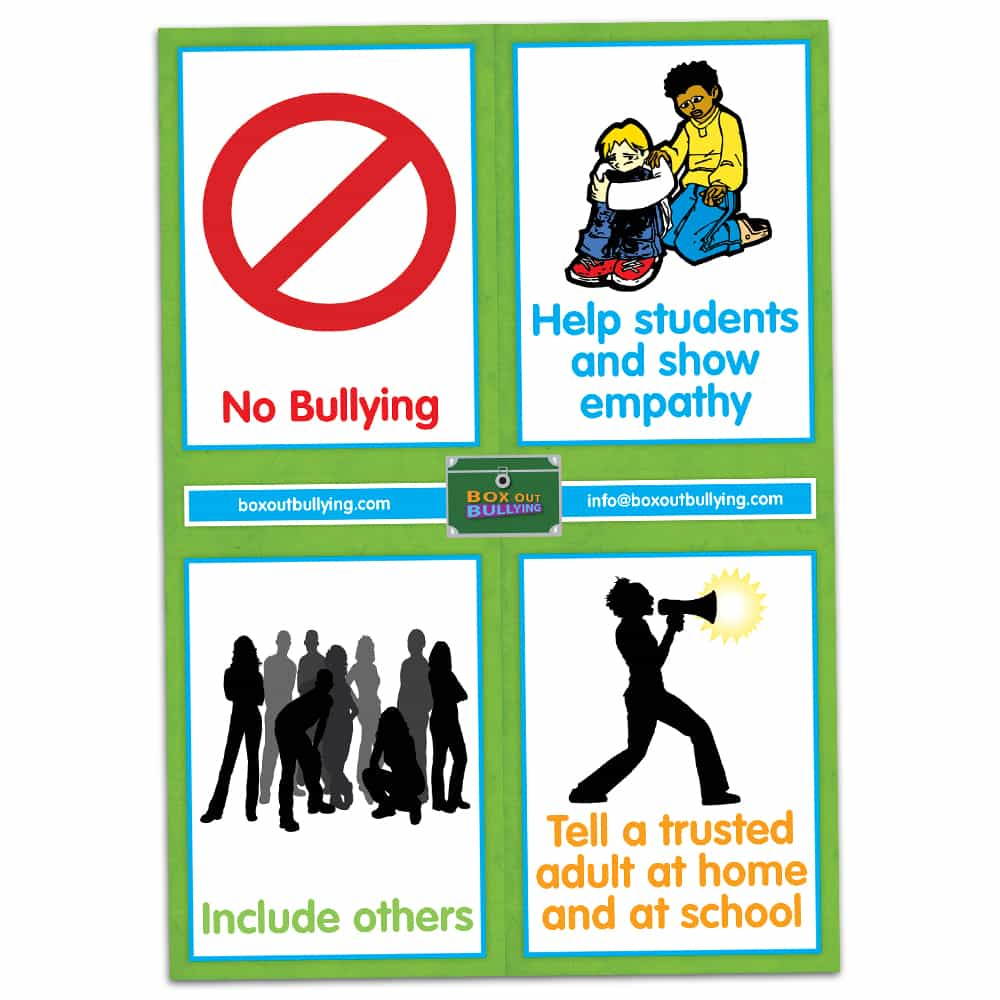 your anti bullying school promises