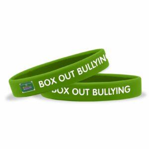 Box Out Bullying Wristband