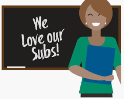 behavior towards substitute teachers