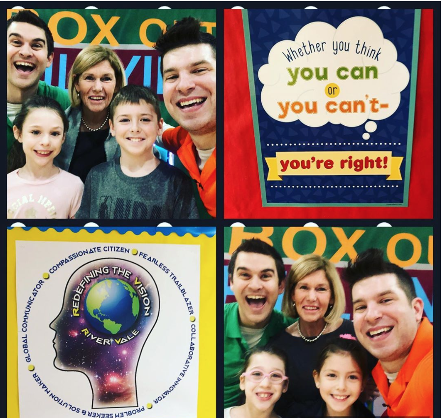 River Vale Public Schools Welcomes Back Box Out Bullying